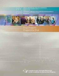 2 - Canadian Society of Hospital Pharmacists