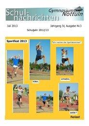 Nr. 3 Juli 2013 - Gymnasium Nottuln