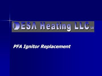 Kerosene Heater Ignitor Replacement - Desa