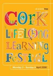 Learning Festival Programme 2006 - Cork City Council