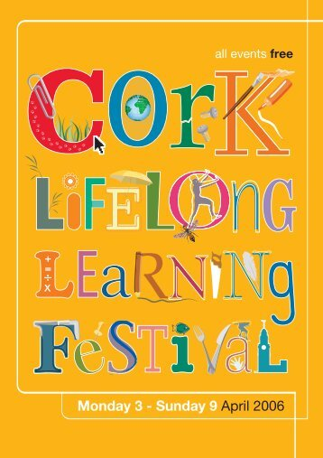 Learning Festival Programme 2006 - Cork City Council