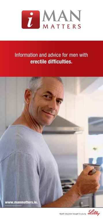 Information and advice for men with erectile difficulties. - Man Matters