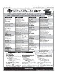 Download Iklan - Politeknik Kota Bharu