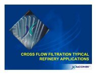 cross flow filtration typical refinery applications - Petroleumclub.ro