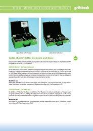 GENO-therm® Koffer Premium und Basic - K. M. G.-gmbh