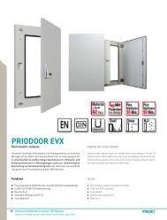 PRIODOOR EVX - Priorit