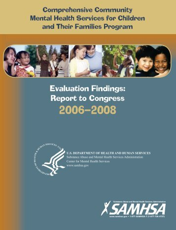 Evaluation Findings - SAMHSA Store - Substance Abuse and Mental ...