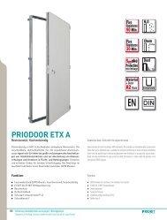 PRIODOOR ETX A - Priorit