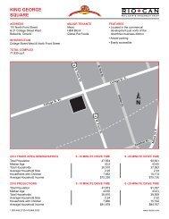Site Plan & Demographics - RioCan