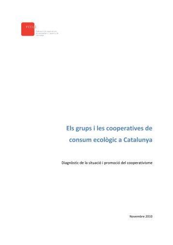 Els grups i les cooperatives de consum ecològic a ... - Xarxanet
