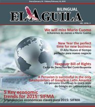 El Aguila Magazine – January 14, 2015