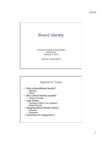 Brand Identity - Prism Web Pages