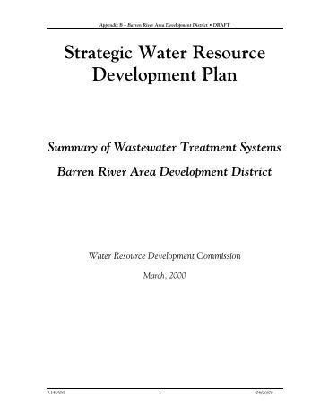 Barren River Area Development District - Kentucky: Infrastructure ...