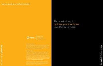 Autodesk Subscription Brochure - Ideate