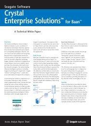 Baan White Paper - Business Intelligence