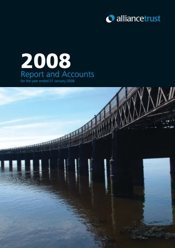 2008 Annual Report - Alliance Trust