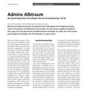 Admins Albtraum