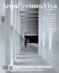 Patrimonio nacional - Arquitectura Viva