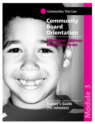 CBO Training Guide Module 3 - Social Development Research Group