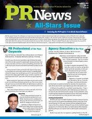 All-Stars Issue - PR News
