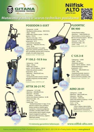 POSEIDON 5-55XT P 150.2 -10 X-tra ATTIX 30-21 PC FLOORTEC ...