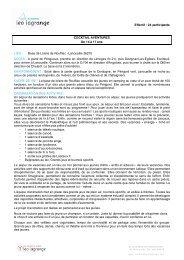 Effectif : 24 participants COCKTAIL AVENTURES De ... - Léo Lagrange