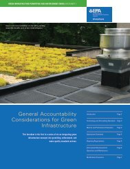 EPA Green Infrastructure Permitting Fact Sheet 1 - All About ...