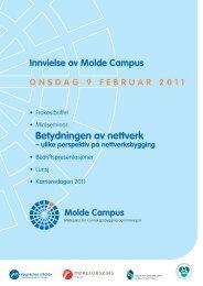 betydningen av nettverk - RFID ved Høgskolen i Molde