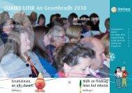 Geammhradh 2010 - Stòrlann Nàiseanta na Gàidhlig