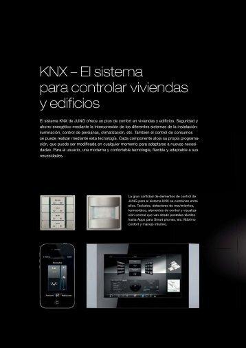 KNX – El sistema para controlar viviendas y edificios - Jungiberica.net