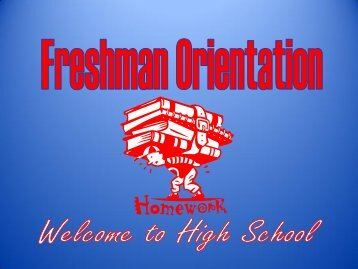 Freshman Orientation - Warrick County School Corporation