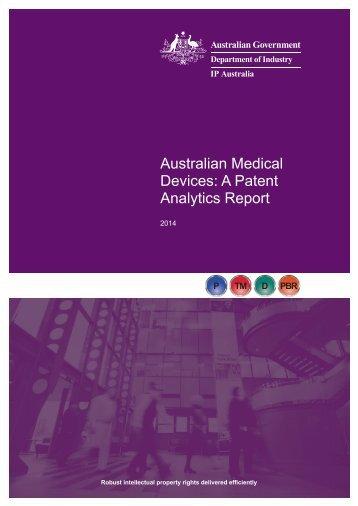 AustralianMedicalDevicesPatentAnalyticsReport2014