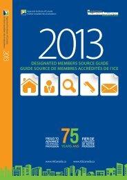 2013 Designated Member Source Guide - Appraisal Institute of ...