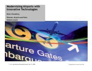 Modernizing Airports with Innovative Technologies