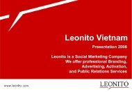 Leonito Vietnam - College Advertising Competition