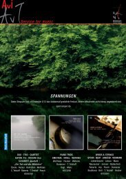 der cavi-music gesamtkatalog 2012 als ... - Avi - Service for music