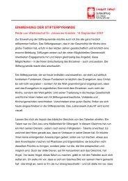 Weihbischof Dr. Johannes Kreidler - Lebenswerk Zukunft