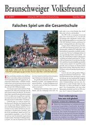 Braunschweiger Volksfreund Ausgabe 2007-4 - Klaus-Peter ...