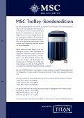 BESTELLFORMULAR MSC Trolley-Sonderedition - MSC Kreuzfahrten - Seite 2