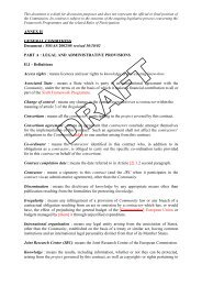 ANNEX II GENERAL CONDITIONS Document : MS/AS 2002/05 ...