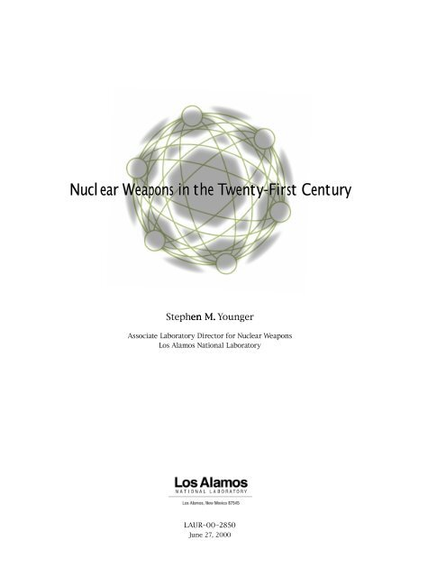 Nuclear Weapons in the Twenty-First Century - Sciencemadness.org
