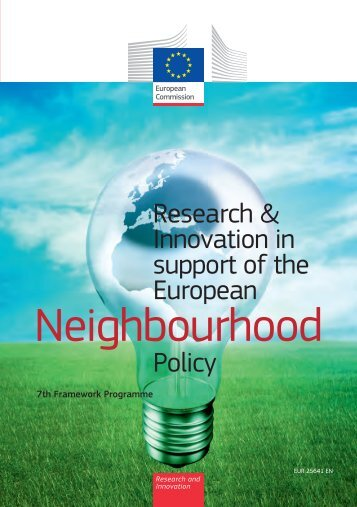 Research and Innovation in support of the European ...