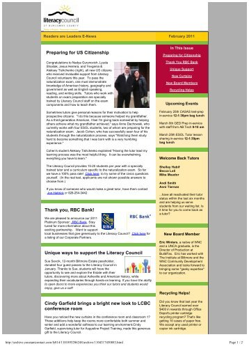 Readers are Leaders February 2011.pdf - Literacy Council of ...