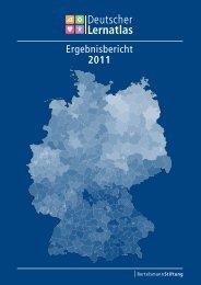 Ergebnisbericht 2011 - Bertelsmann Stiftung
