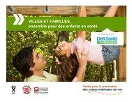 villes et familles - Réseau québécois des villes et villages en santé
