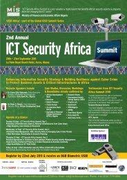 ICT Security Africa - MIS Training