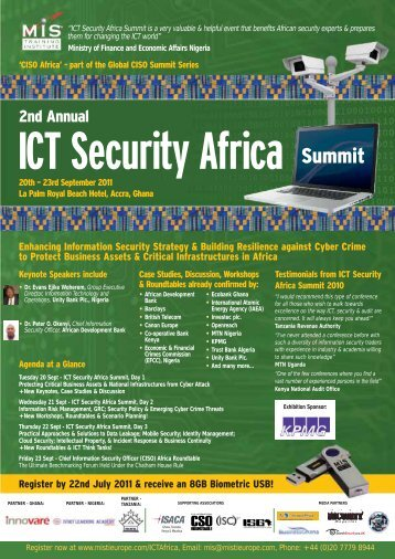 ICT Security Africa - MIS Training