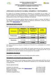 xii congreso colombiano de geotecnia - ISRM