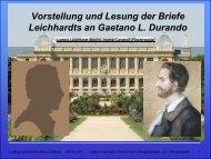 Gaetano L. Durando - Landeck, Ingmar