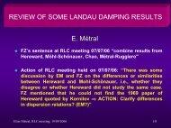 Review of Some Landau Damping Results
